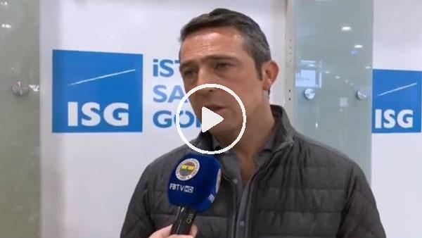 'Ali Koç'tan Ergin Ataman'a sert sözler