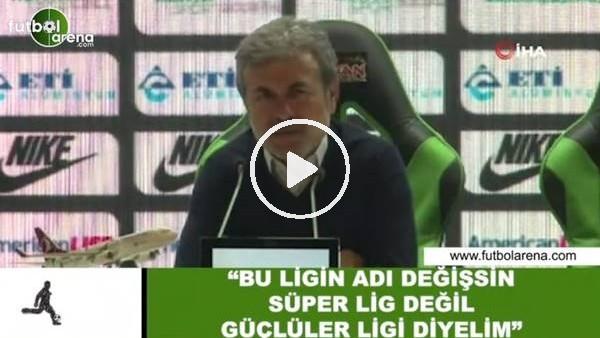 """'Aykut Kocaman: """"Bu ligin adı değişsin, Süper Lig değil güçlüler ligi diyelim"""""""