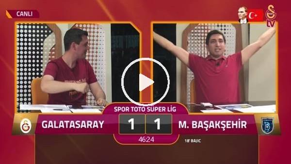'Feghouli'nin golünde GS TV spikerleri çıldırdı