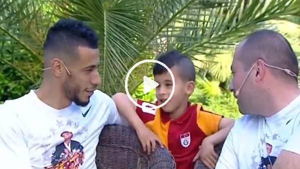 """'Belhanda'nın oğlu: """"Büyüyünce Galatasaray'da oynayacağım"""""""
