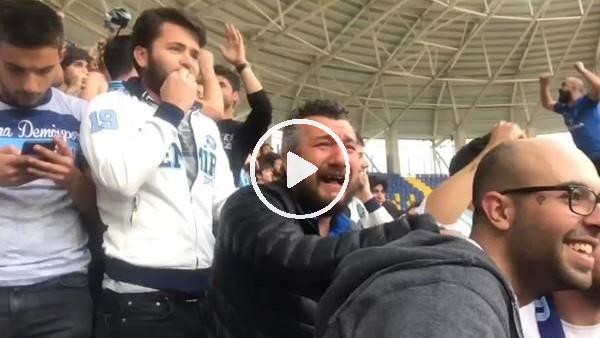 'Adana Demirsporlu taraftarlar gözyaşlarını tutamadı