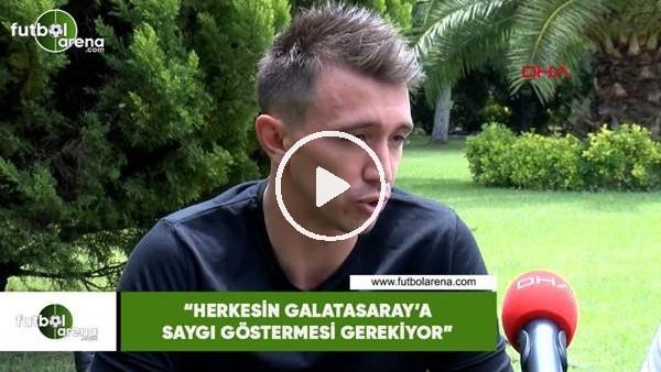 """Muslera: """"Herkesin Galatasaray'a saygı göstermesi gerekiyor"""""""