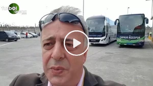 Çaykur Rizespor - Galatasaray maçına doğru