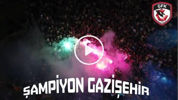 'Gazişehir Gaziatep Süper Lig'de!