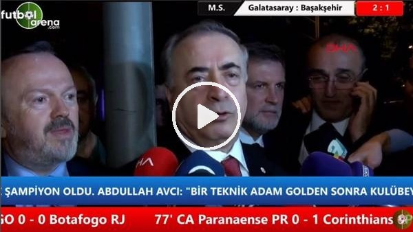 """'Musafa Cengiz: """"17 taıma saygı ve teşekkürlerimi iletiyorum"""""""