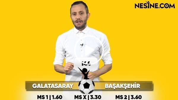 Galatasaray - Başakşehir TEK MAÇ Nesine'de!