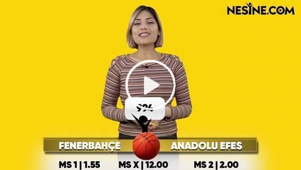 'Fenerbahçe Beko - Anadolu Efes TEK MAÇ Nesine'de!