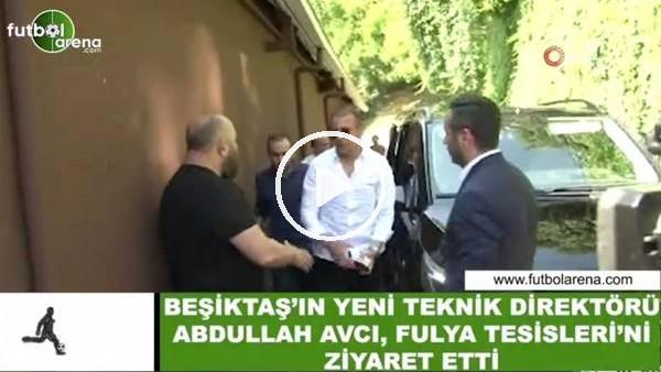 Beşiktaş'ın yeni teknik direktörü Abdullah Avcı, Fulya Tesisleri'ni ziyaret etti