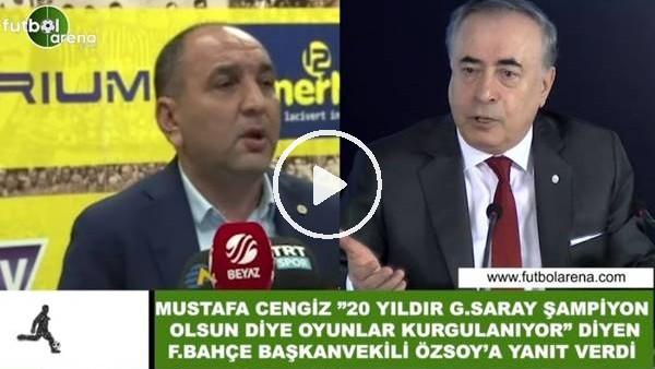 'Mustafa Cengiz, Semih Özsoy'a yanıt verdi