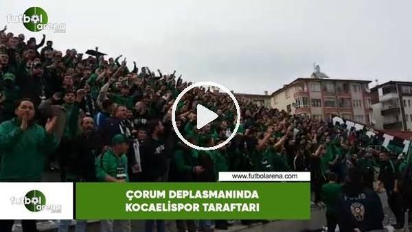 'Çorum deplasmanında Kocaelispor taraftarı