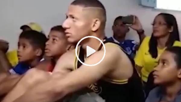 'Richarlison'ın Brezilya kadrosuna seçilnce böyle sevindi