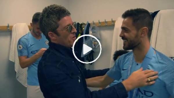 Manchester City şampiyonluğunu Oasis ile kutladı