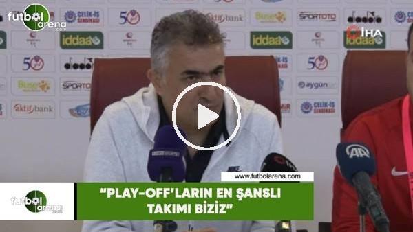 """Mehmet Altıparmak: """"Play-off'ların en şanslı takımı biziz"""""""