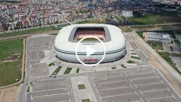 Yeni 4 Eylül Stadı finale hazırlanıyor