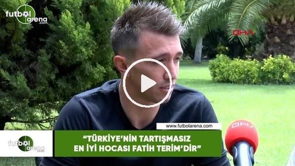 """Muslera: """"Türkiye'nin en iyi hocası tartışmasız Fatih Terim'dir"""""""