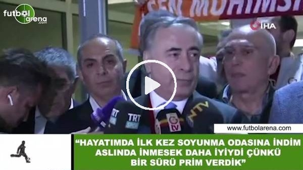 """Mustafa Cengiz: """"Hayatımda ilk defa soyunma odasına indim inmesek iyiydi çünkü bir sürü prim verdik"""""""