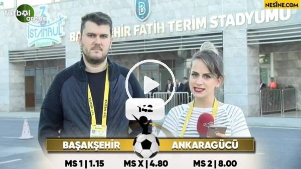 Başakşehir - Ankaragücü maçı Nesine'de!