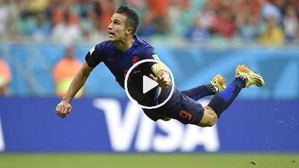 'Robin van Persie'nin en güzel 10 golü