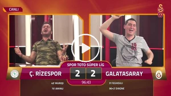 GS TV spikerleri Diagne'nin golünde çıldırdı
