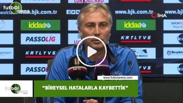 """'İlyas Öztürk: """"Bireysel hatalarla kaybettik"""""""
