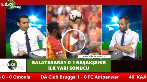 """'Cenk Özcan: """"Galatasaraylı futbolcular çok tedirgin"""""""