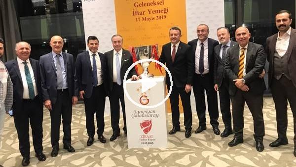 'Galatasaray Kulübü, GSYİAD'ın iftarında buluştu