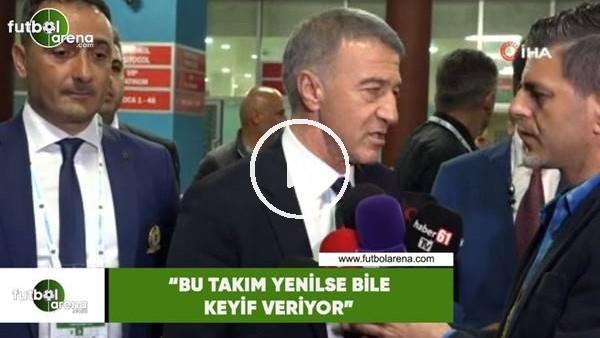 """Ahmet Ağaoğlu: """"Bu takım yenilse bile keyif veriyor"""""""