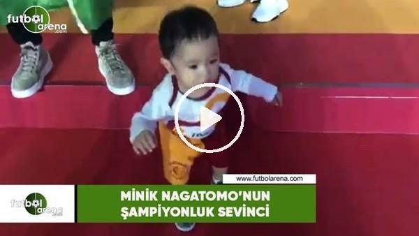 'Minik Nagatomo'nun şampiyonluk sevinci