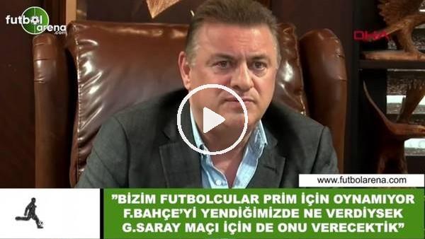 """'Hasan Kartal: """"Bizim futbolcular prim için oynamıyor"""""""