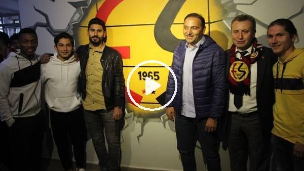 'Fuat Çapa ve Eskişehirsporlu futbolcular öğrencilerle buluştu