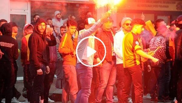 'Belçika'da Galatasaraylı taraftarlar sokaklara döküldü
