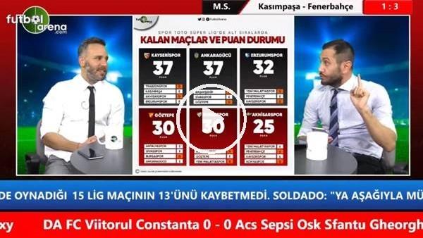 """Aydın Cingöz: """"Kasımpaşa'nın kalan 3 maçı kazanacağını düşünmüyorum"""""""