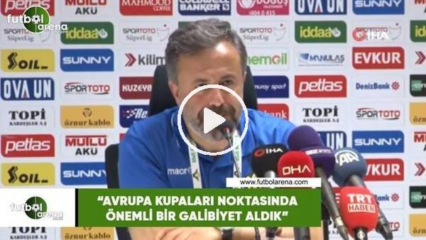 """'Hasan Çalışkan: """"Avrupa kupaları noktasında önemli bir galibiyet aldık"""""""