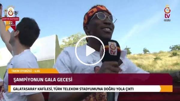 'Galatasaraylı futboluların şampiyonluk coşkusu