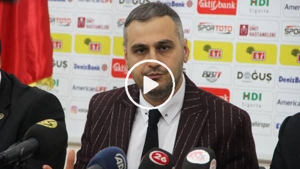 Eskişehirspor Başkanı Kaan Ay görevi bıraktığını açıkladı