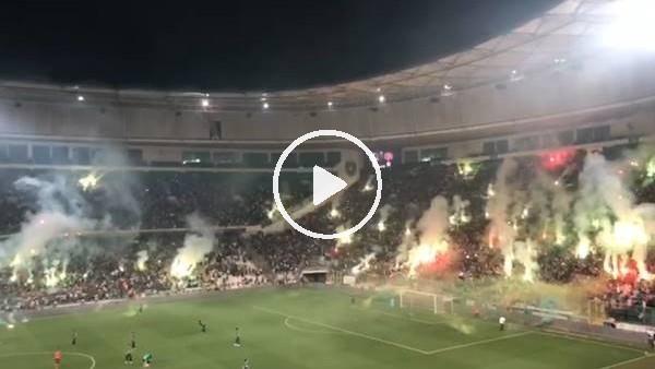 'Sakaryaspor-Karagümrükspor maçında muhteşem atmosfer