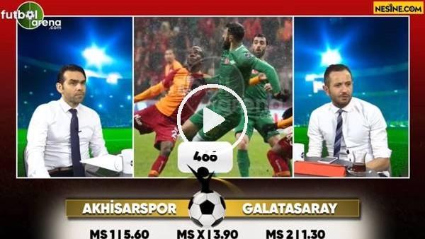 Akhisarspor - Galatasaray maçı Nesine'de!