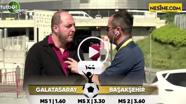'Senih Yurga'dan Galatasaray - Başakşehir maçı tahmini