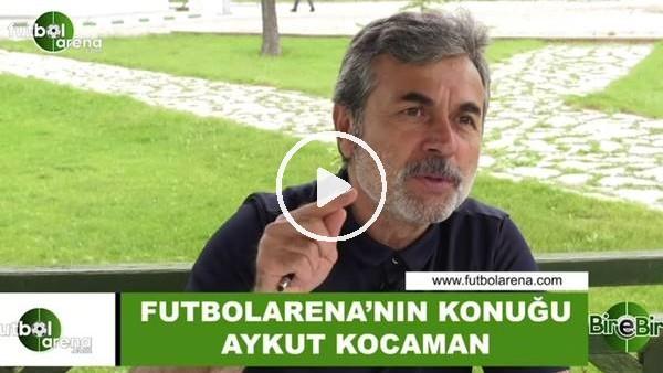 """'Aykut Kocaman: """"Bizim dönemimizde oynadığımız futbolla bu dönemde oynamak mümkün değil"""""""