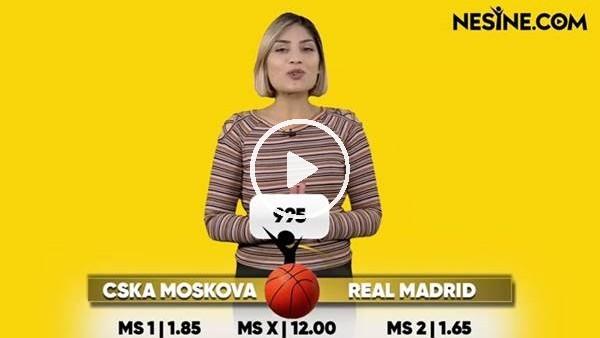 CSKA Moskova - Real Madrid TEK MAÇ Nesine'de!