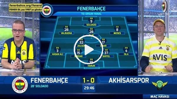 Soldado ve Dirar'ın gollerinde FB TV spikerleri