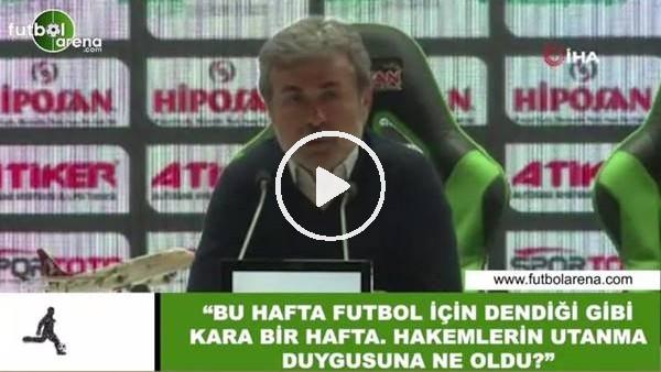 """Aykut Kocaman: """"Bu hafta futbol için dendiği gibi kara bir hafta. hakemlerin utanma duygusuna ne oldu?"""""""