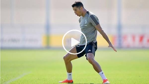 'Cristiano Ronaldo, antrenmanda da durdurulamıyor...