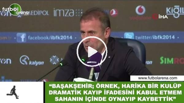"""'Abdullah Avcı: """"Dramatik kayıp ifadesini kabul etmem sahanın içinde oynayıp kaybettik"""""""