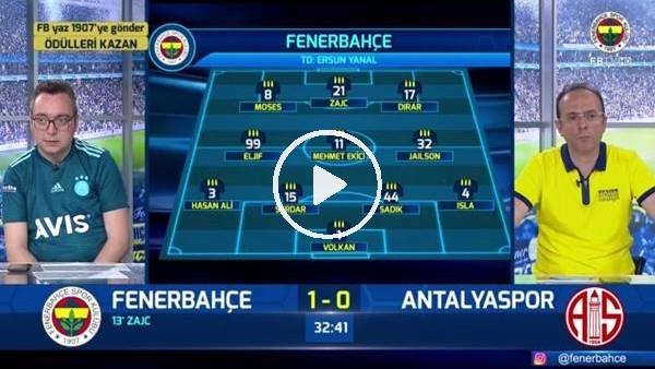 'Mevlüt Erdinç'i golünde FB TV spikerleri