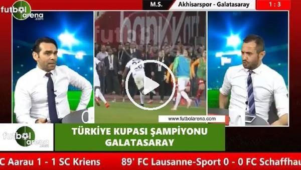 """Cenk Özcan: """"Fatih Terim, Diagne'nin penaltı kaçıracağını hissetmiş, Selçuk atsın dedi"""""""