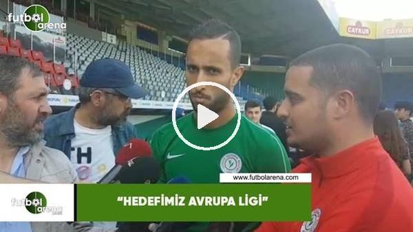 """Mohamed Aberhoun: """"Hedefimiz Avrupa Ligi"""""""