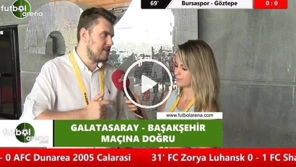 """'Sinan Yımaz: """"Galatasaray'ın puan farkını kapatması inanılmaz"""""""