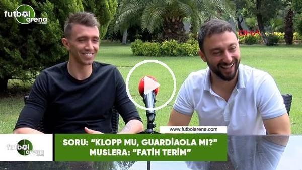 """Muslera'dan """"Klopp mu, Guardiola mı?"""" sorusuna Fatih Terim cevabı"""