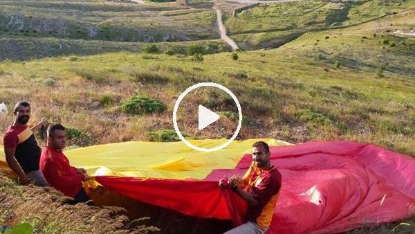 'Gercüş'te Galatasaray aşkı dağlarda